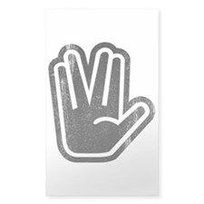 Live Long & Prosper Hand Decal