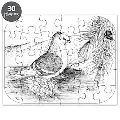 Saxon Shield Pigeon 1973 Puzzle