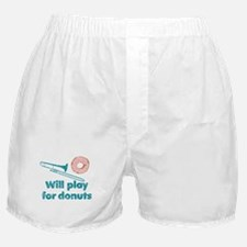 Will Play Trombone for Donuts Boxer Shorts