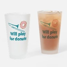 Will Play Trombone for Donuts Drinking Glass