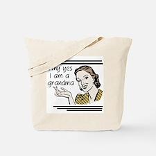 Retro Grandma Tote Bag