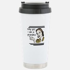Retro Grandma Travel Mug
