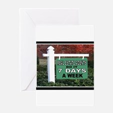 Cute Real estate agents Greeting Card