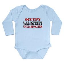 Vive La Revolution Long Sleeve Infant Bodysuit