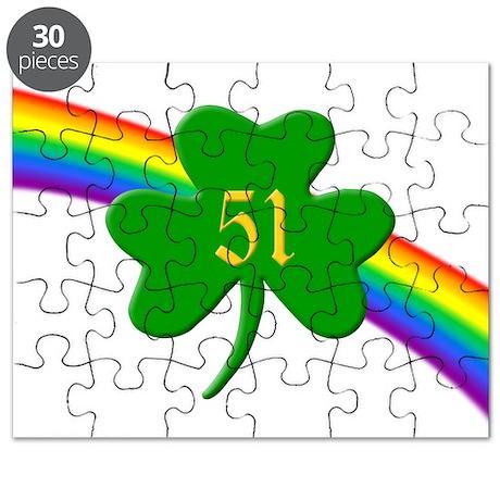 51st Shamrock Puzzle