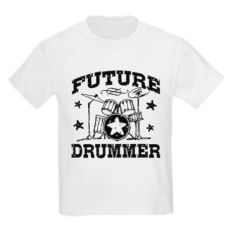 Future Drummer Kids Light T-Shirt