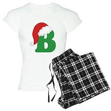 Christmas Letter B Alphabet Pajamas