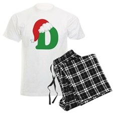 Christmas Letter D Alphabet Pajamas
