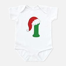 Christmas Letter I Alphabet Infant Bodysuit