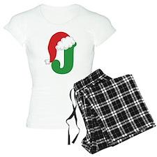 Christmas Letter J Alphabet Pajamas
