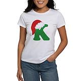 Alphabet Women's T-Shirt
