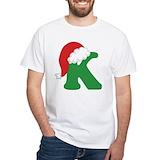 Christmas k Mens Classic White T-Shirts