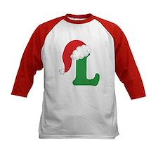 Christmas Letter L Alphabet Tee