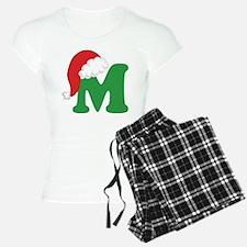 Christmas Letter M Alphabet Pajamas