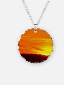 Twilight Breaking Dawn Sunrise Necklace