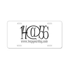 14@56 Aluminum License Plate