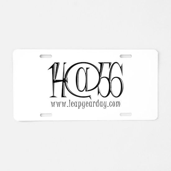 14@56 Aluminum License Plate