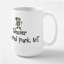 Glacier National Park (Boy) Large Mug