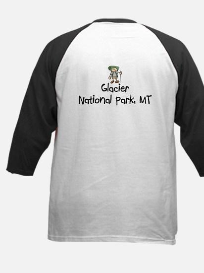 Glacier National Park (Boy) Kids Baseball Jersey