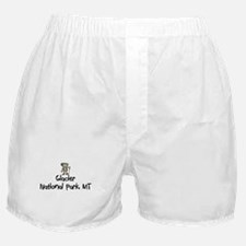Glacier National Park (Boy) Boxer Shorts