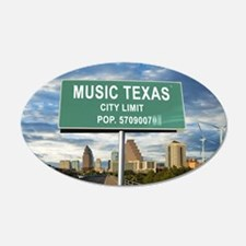 "Austin ""Music"" Texas Wall Decal"