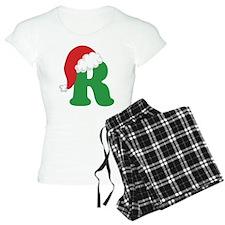 Christmas Letter R Alphabet Pajamas