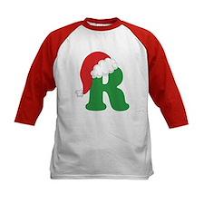 Christmas Letter R Alphabet Tee