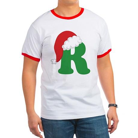 Christmas Letter R Alphabet Ringer T