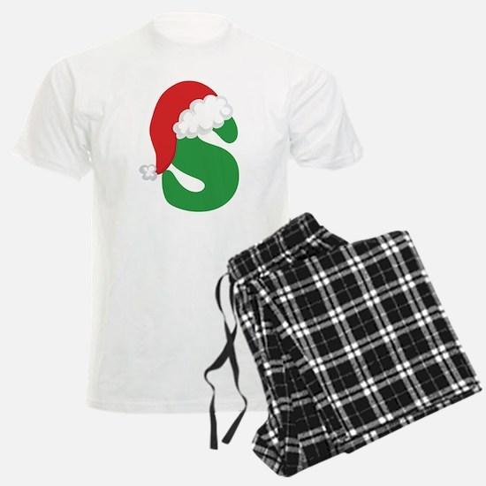Christmas Letter S Alphabet pajamas