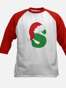 Christmas Letter S Alphabet Tee
