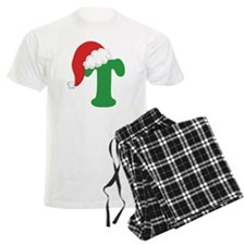 Christmas Letter T Alphabet Pajamas