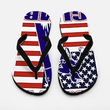 american power lineman Flip Flops