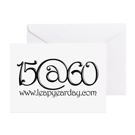 15@60 Greeting Cards (Pk of 10)