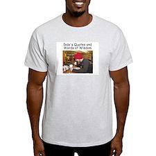 Dale Bushel Ash Grey T-Shirt