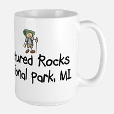 Pictured Rocks Nat Park (Boy) Large Mug