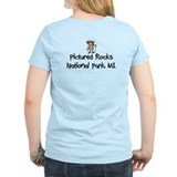 Female hiker Women's Light T-Shirt