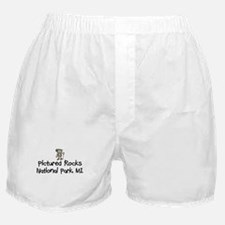 Pictured Rocks Nat Park (Boy) Boxer Shorts