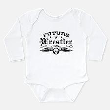 Future Wrestler Long Sleeve Infant Bodysuit