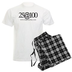 25 at One-Hundred! Men's Light Pajamas