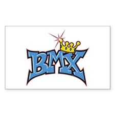 BMX King Rectangle Decal