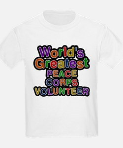Worlds Greatest PEACE CORPS VOLUNTEER T-Shirt