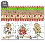 Gingerbread toys Puzzles