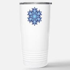 Snowflake 12 Stainless Steel Travel Mug