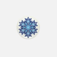 Snowflake 12 Mini Button