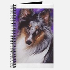 Cute Blue merle sheltie Journal