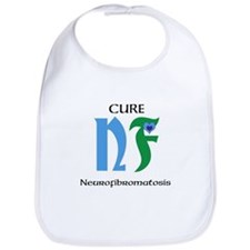 (Child's Bib) - NF (Neurofibromatosis) Awareness