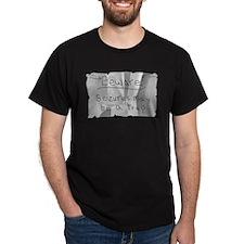 Beware! Seizures May Be A Trap - Black T-Shirt
