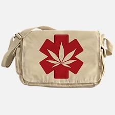 Support Medical Marijuana Messenger Bag