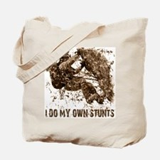 Rock Climbing My Own Stunts Tote Bag