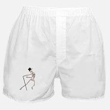 The Dancing Skeleton Boxer Shorts